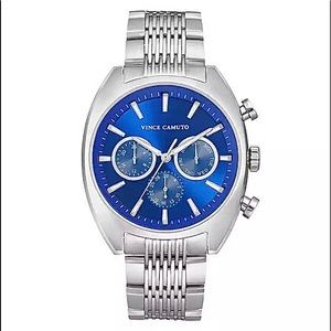 Vince Camuto Stainless Multi Function Men's Watch